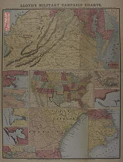 Lloyd's Military Campaign Charts: Virginia Pan-Handle